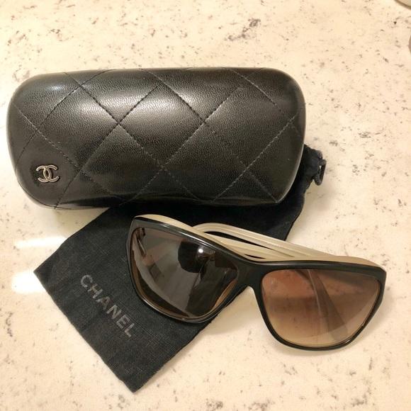 4abece275a35 CHANEL Accessories - Authentic CHANEL Two-tone Sunglasses